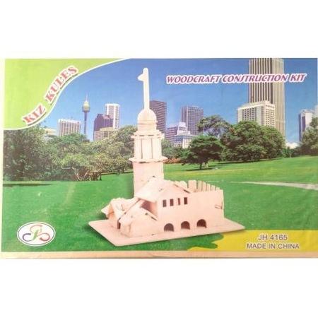 Büyük Boy Kız Kulesi Ahşap Maketi N11com