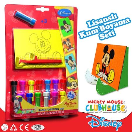 Disney Dörtlü çocuk Kum Boyama Seti Mickey Mouse Serisi N11com