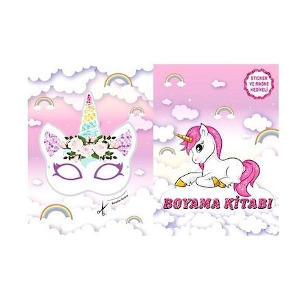 Unicorn Boyama Kitabi 10 Adet N11 Com