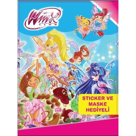 Winx Boyama Kitabi 10 Adet N11 Com