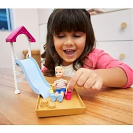 Mattel Barbie Bebek Bakıcılığı Oyun Seti Fxg94 Kaykay Yeni N11com