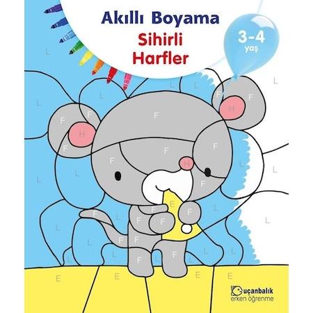Akilli Boyama Sihirli Harfler 3 4 Yas N11 Com