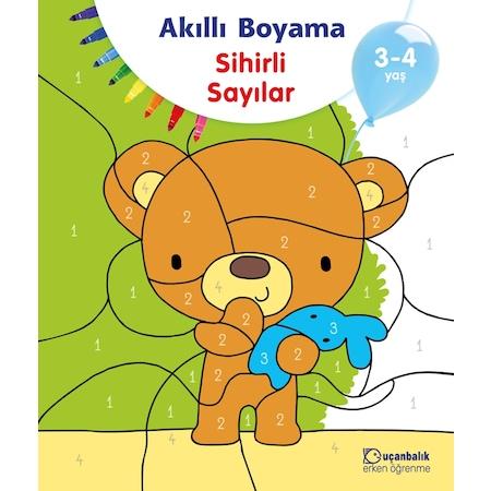 Akilli Boyama Sihirli Sayilar 3 4 Yas Ucanbalik Erken Ogrenme