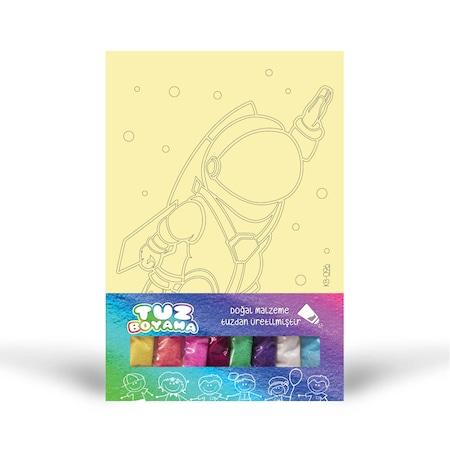 Astronot 1 Tuz Boyama N11com