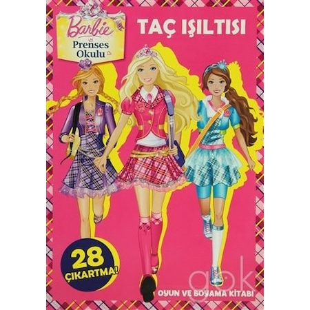 Barbie Prenses Okulu Tac Isiltisi N11 Com