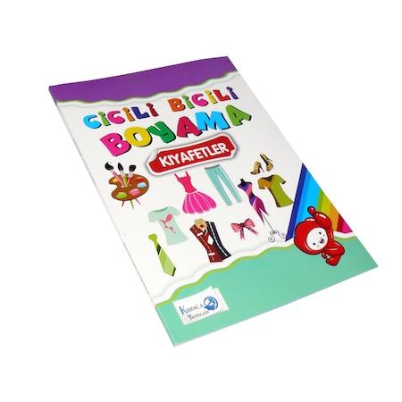 Boyama Kitabi Kalin Cicili Bicili 80 Sayfa N11 Com