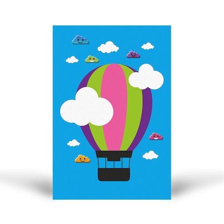 Bulut Puffy Kb 332 Ucan Balon Dogal Tuz Boyama Aile Etkinlik Seti