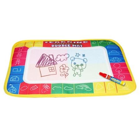 çocuk Oyun Matı Oyun Halısı Su Kalemli Boyama Matı 30 X 45 Cm
