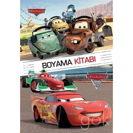 Disney Arabalar Boyama Kitabi N11 Com