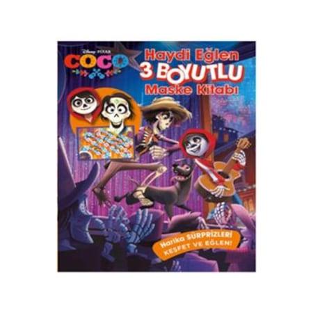Disney Coco Haydi Eglen Boyama Ve 3 Boyutlu Maske Kitabi N11 Com