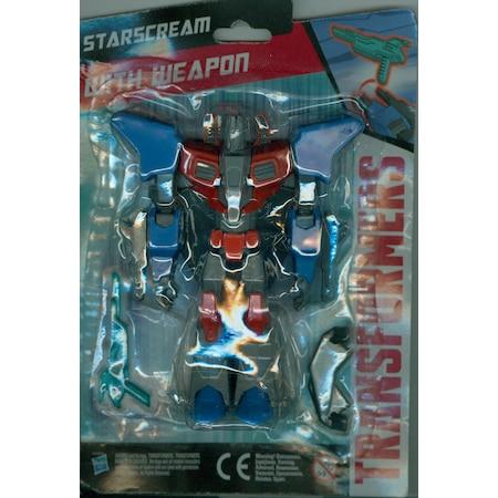 Eğlence Dünyası Transformers Boyama Kitabı Ve Starscream Wıth Wea