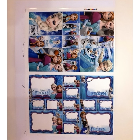 Elsa Frozen Faaliyet Boyama Kitabı Maske Sticker Boyama N11com