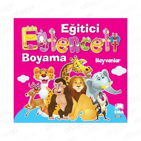Ema Cocuk Egitici Eglenceli Boyama Kitabi Hayvanlar N11 Com