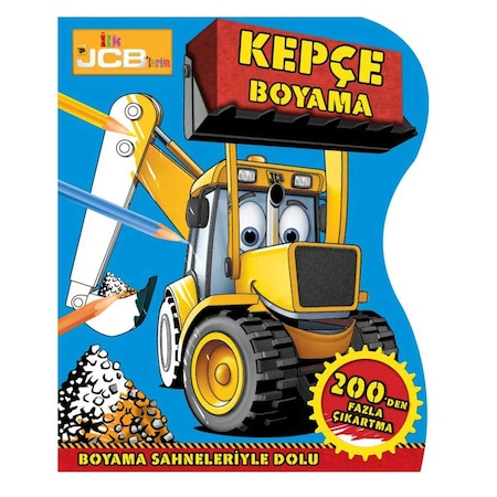 Beta Kids Ilk Jcblerim Kepçe Boyama N11com