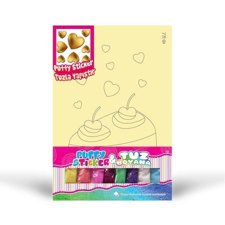 Kalp Puffy Kb 322 Pasta Dogal Tuz Boyama Aile Etkinlik Seti N11 Com