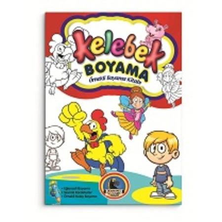 Kelebek Boyama 8 Kitap N11com