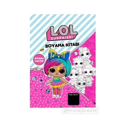 Lol Bebek Surprise Boyama Partisi Boyama Kitabi N11 Com