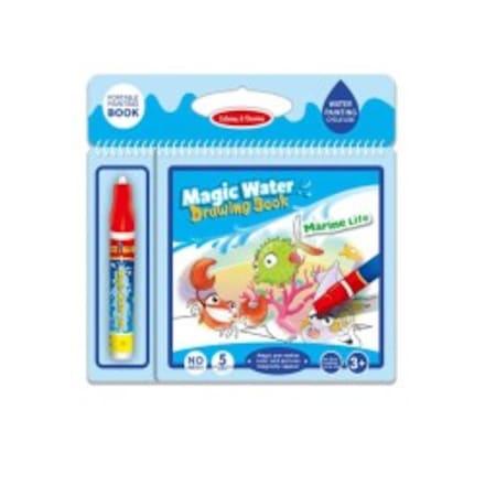 Magic Water 6 Sayfa Deniz Hayvanlari Boyama Seti N11 Com