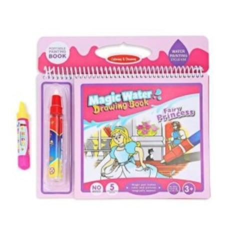 Magic Water 6 Sayfa Prenses Boyama Seti N11 Com