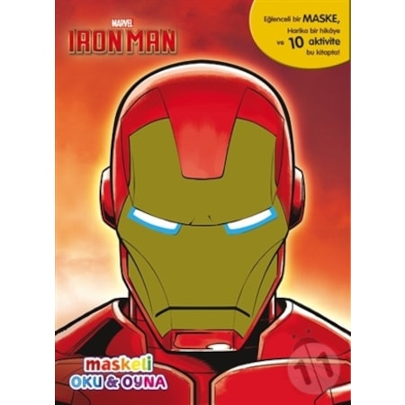 Marvel Iron Man Maskeli Oku Ve Boya N11 Com