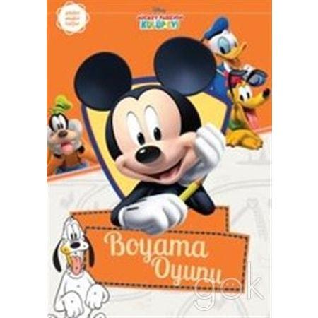 Mickey Farenin Kulüp Evi Boyama Oyunu N11com