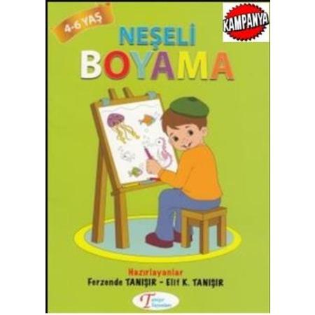 Neseli Boyama 4 6 Yas Tanisir N11 Com