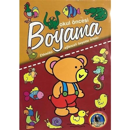 Okul Oncesi Boyama Etkinlikli Eglenceli Dev Boyama Kitabi Hay