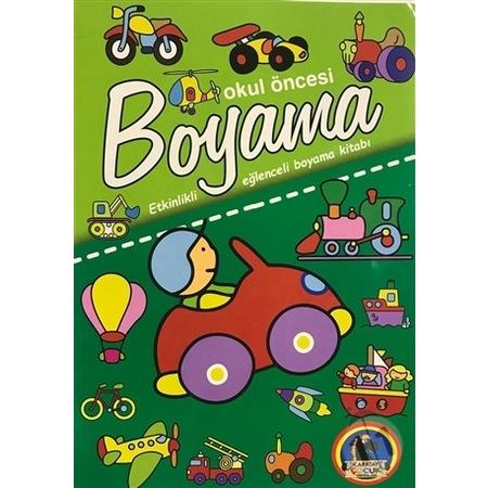 Okul Oncesi Boyama Etkinlikli Eglenceli Dev Boyama Kitabi Tas