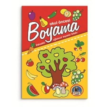 Okul öncesi Boyama 5 Kitap N11com
