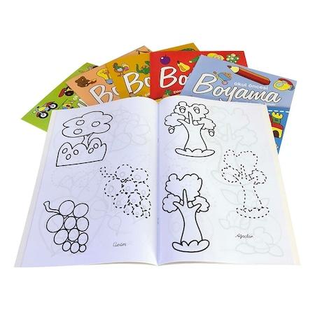 Okul öncesi Dev Boy Boyama Kitabı 1 Adet N11com