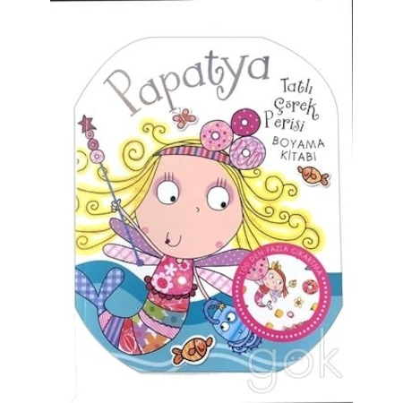 Papatya Tatlı çörek Rerisi Boyama Kitabı N11com