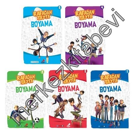 Rafadan Tayfa Boyama Kitabı Seti K 5 Li ücretsiz Kargo N11com