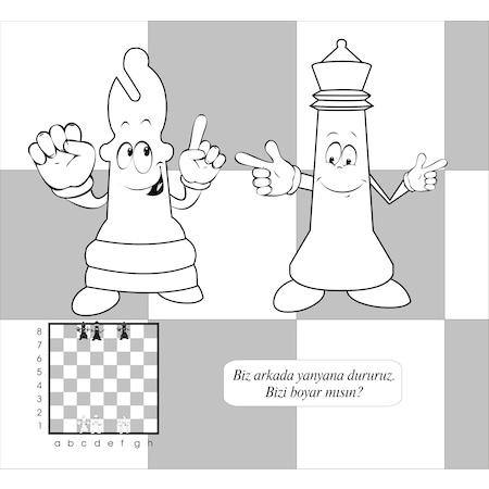 Satranç Boyama Kitabı 2 N11com