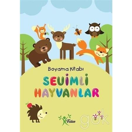 Sevimli Hayvanlar Boyama Kitabi N11 Com