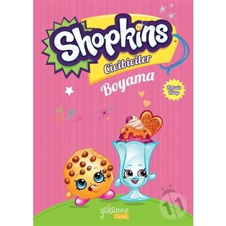 Shopkins Cicibiciler Boyama Kitabı 5li Set N11com