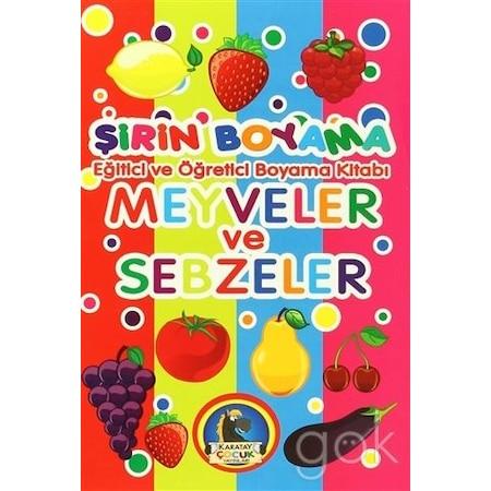 Meyve Ve Sebze Cocuk Boyama Kitaplari Fiyatlari N11 Com