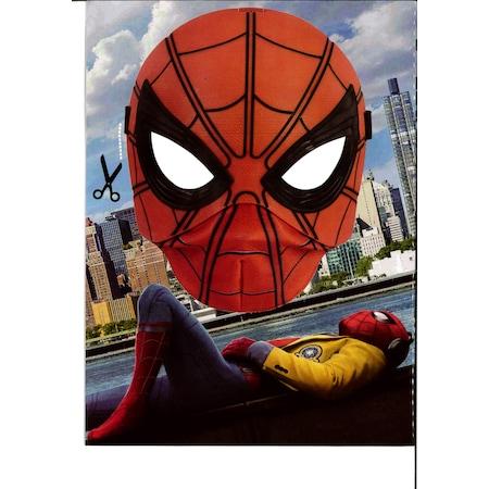 Spiderman Boyama Kitabı Stıcker Ve Maske Hediyeli N11com
