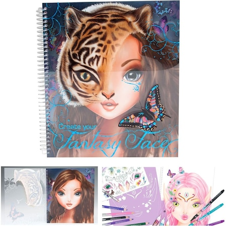 Top Model Fantasy Face Yüz Boyama 8050 N11com