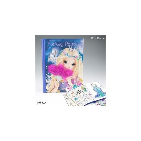 Top Model Fantasy Prenses Model Olusturma Boyama Kitabi 7988 N11 Com