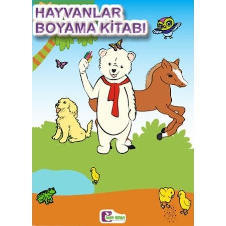 Hayvanlar Boyama Kitabı N11com