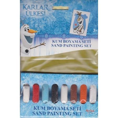 Karlar ülkesi Frozen Olaf Kum Boyama Seti Pkn 104 N11com