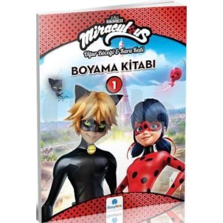 Miraculous Boyama Kitabi 1 Ugur Bocegi Ve Kara Kedi N11 Com