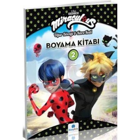 Miraculous Boyama Kitabi 2 Ugur Bocegi Ve Kara Kedi N11 Com