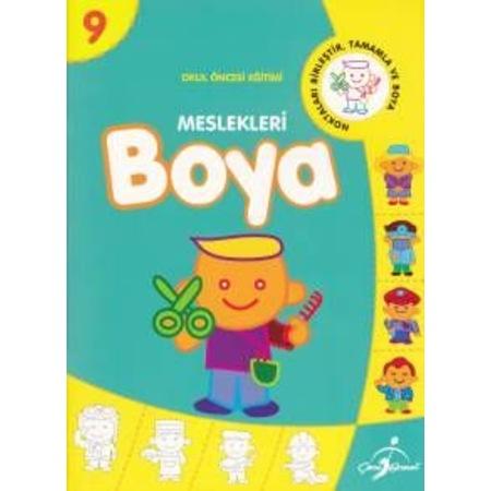 En Iyi Okul Oncesi 9 Rakamy Boyama Hedef En Iyi Boyama Cocuk Kitabi
