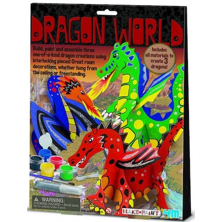 4m Ejderha Dünyası Tasarla Ve Boya Oyun Seti 3825