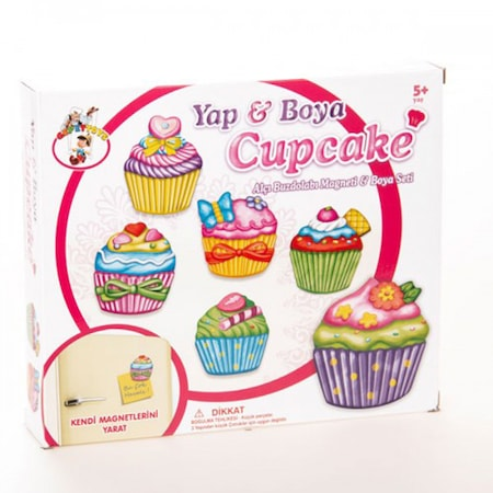 Oyuncak Yap Boya Cup Cake Magnet N11 Com