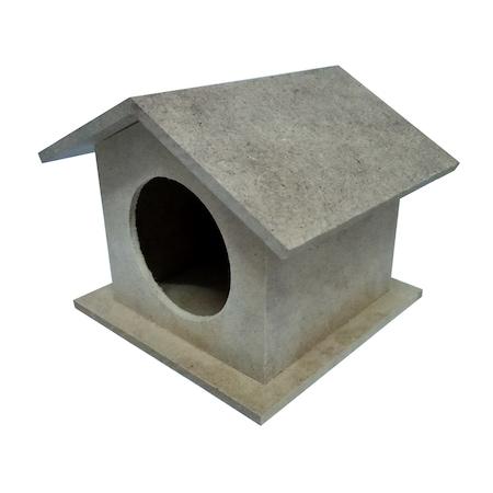 Ahşap Kuş Evi Boyama 2 Adet N11com