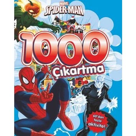 Marvel Spider Man 1000 çıkartma Bulmaca Aktivite Ve Boyama Kitabı