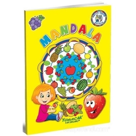 Meyve Sebze Boyama Mandala N11com