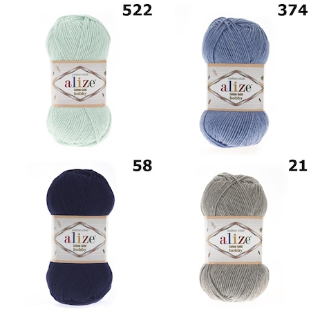 Alize Cotton Gold Cotton Ve Amigurumi Örgü İpi *RENK SEÇENEKLİ | 450x450